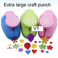 Super Large Flower/Snow/Ballon Shaped Punch Furador De Papel Diy Craft Punch Eva Creative Embosser Card Making Scrapbooking