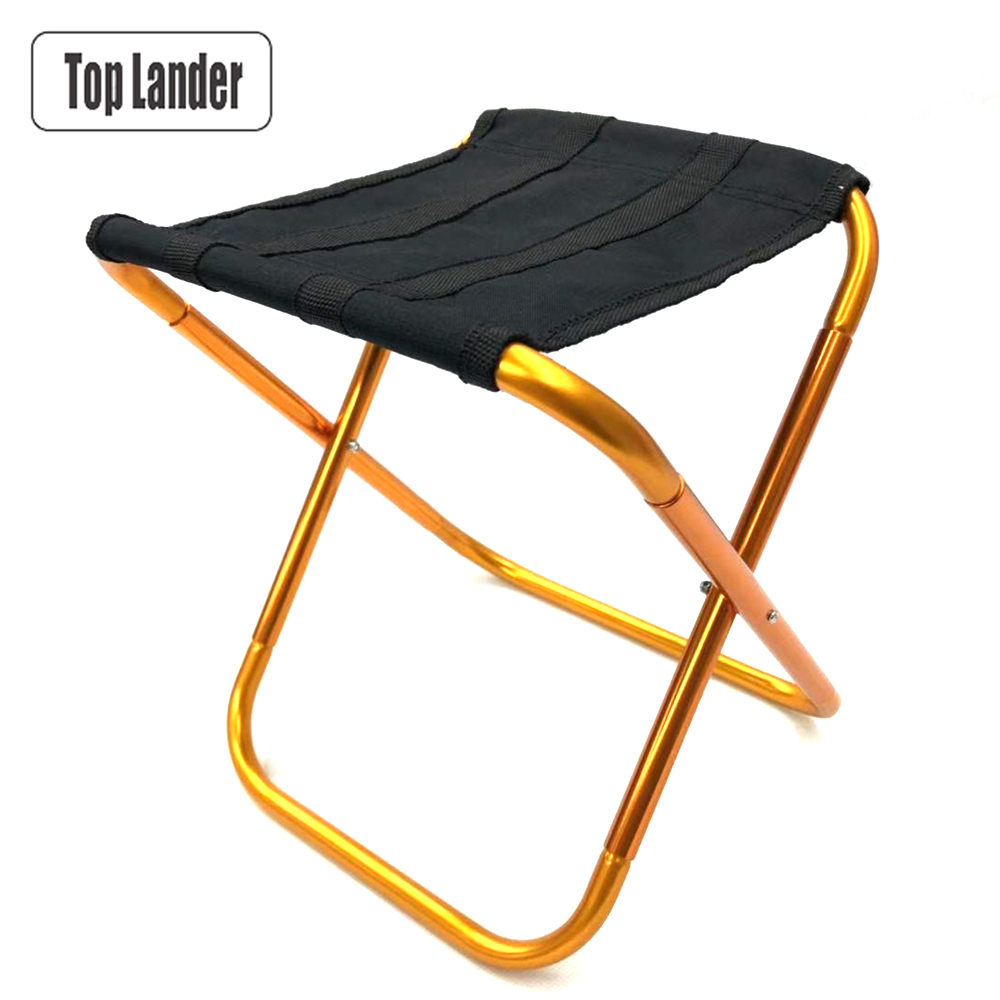 Awesome Us 10 79 35 Off Ultralight Outdoor Fishing Stool Portable Folding Backpack Camping Camping Oxford Cloth Foldable Picnic Chair With Bag In Outdoor Evergreenethics Interior Chair Design Evergreenethicsorg