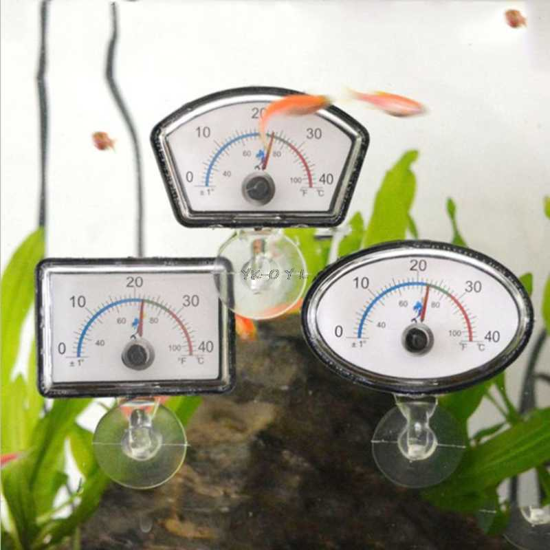 Aquarium Pointer Ikan Tangki Suhu Panggil Submersible Suction Cup