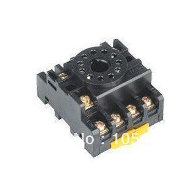 цена на Lot 20pcs Omron PF113A 11 Pin Mini Relay Socket Base For MK3P,JQX-10F/3Z