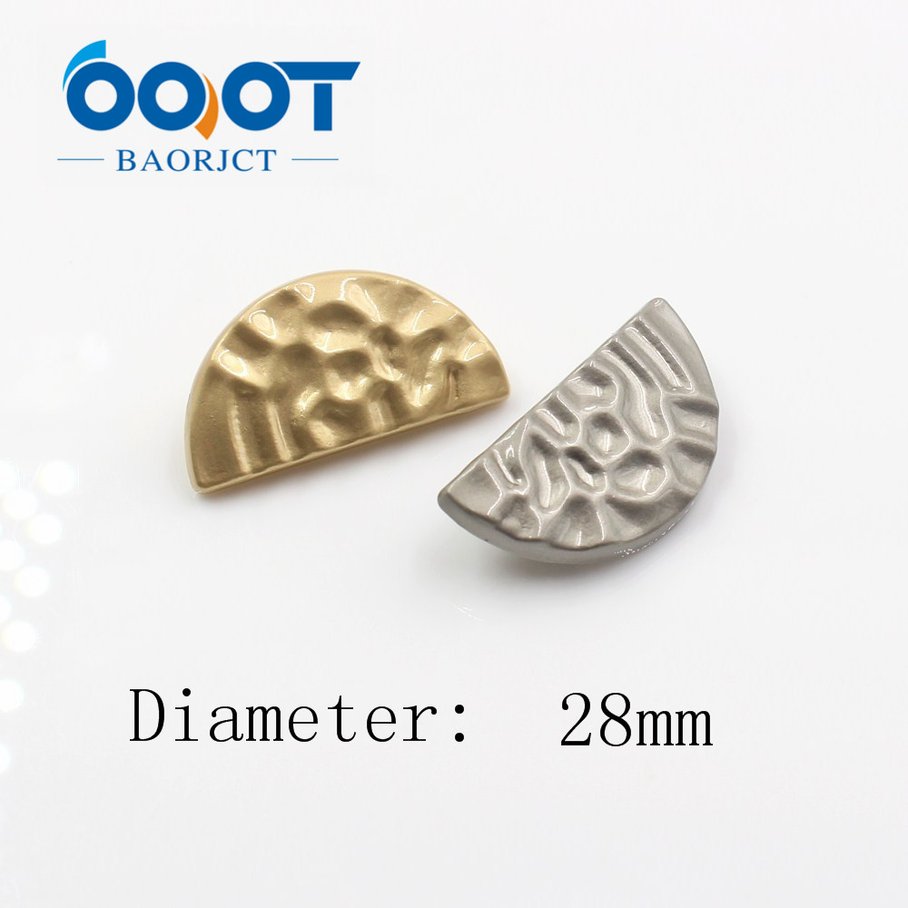 Ooot Baorjct A-18315-23,10 Pcs,28mm High Quality Classic Fashion Metal Buttons Clothing Accessories Diy Handmade More Discounts Surprises Solar Cells Solar