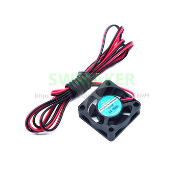 SWMAKER Tarantula 3D printer 12V brushless mute cooling micro fan 3010 DC 12V Brushless Cooling Cooler Fan 100mm cable image
