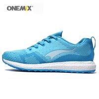 New Arrival 2015 Onemix Men S Running Shoes Breathable Weaving Winter Sport Shoes Men S Walking