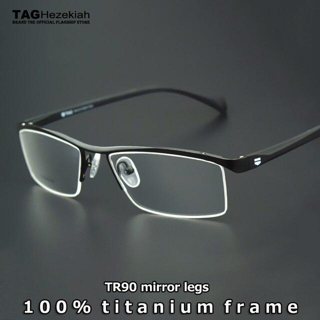 2b97cde2dafb47 Brillen Frames Merk titanium bril frame vrouwen mannen 2019 Retro computer  bijziendheid optische bril oculos de grau lunette de vue