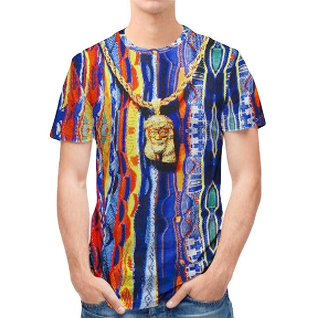 3970ba92a6b Sondirane New Fashion Mens Hindu god Hanuman 3D Print Casual T-Shirt Summer  Short Sleeve Tops Tees Comfortable Clothing P4