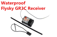 waterproof Flysky GR3C Receiver 3 Channel 2.4Ghz FS GT2 GT2B  GT3B Receiver FailSafe RC Boat Car