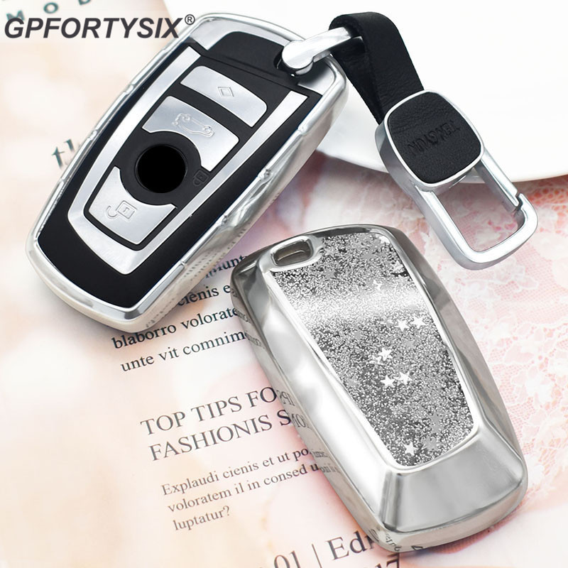 Car Key Case cover Fob for BMW 1 3 5 7 Series X3 X4 f30 f10 M3 M4 M5 E34 E90 E60