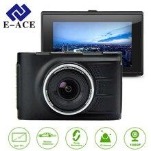 E-ACE Novatek WDR Dash Cam Mini Automóvil Detector de Dvr Del Coche de 3.0 Pulgadas 1920*1080 FHD Vehículos Video Recorder Dictáfono Camara