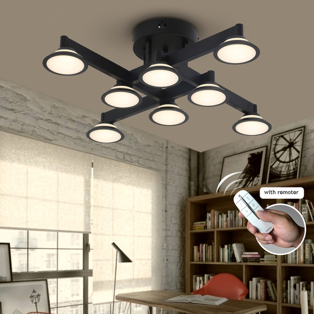Remote Controlling DIY Led Ceiling Light Color Dimming Ceiling Lamps ...