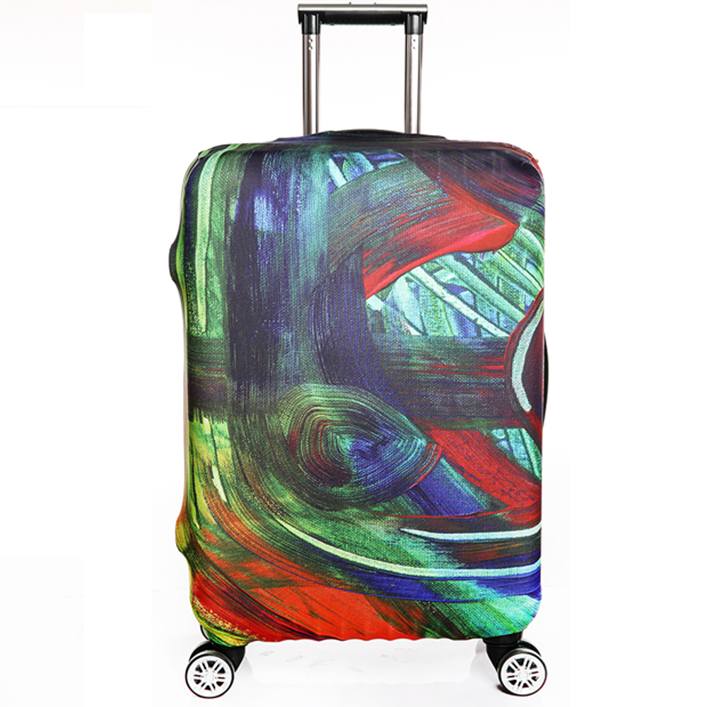 Protective Case for Suitcase Travel Suitcase Case High Stretch Suitcase Protective Covers Fashion Luggage Cover Capa Mala Viagem