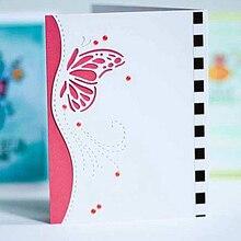 Beautiful DIY Craft Cutting Dies Butterfly Envelope greeting card Metal Stencil Card Scrapbooking Album Book Embossing