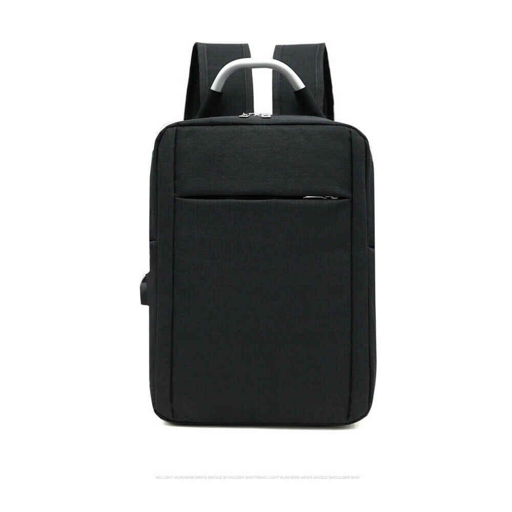 Рюкзак с защитой от кражи для мужчин и женщин зарядка через usb унисекс Оксфорд на