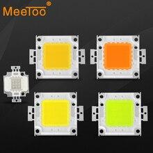Светодиодный прожектор COB 10 Вт 20 Вт 30 Вт 50 Вт 100 Вт, Интегрированный Светодиодный источник высокой мощности для прожектора, теплый белый/крас...