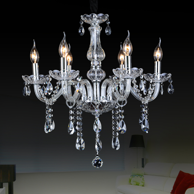 Crystal Large Chandeliers Contemporary Lampshades Murano Glass Chandelier Lampadari Moderni For Dining Room Lights