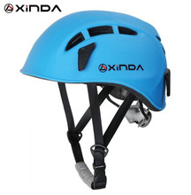 Xinda Outdoor Rock Climbing Downhill Helmet Speleology Mountain Rescue Equipment  Expand Helmet Wading Safety Helmet xinda outdoor adjustable helmet climbing equipment expand helmet hole rescue mountain climbing helmet protective safety helmet