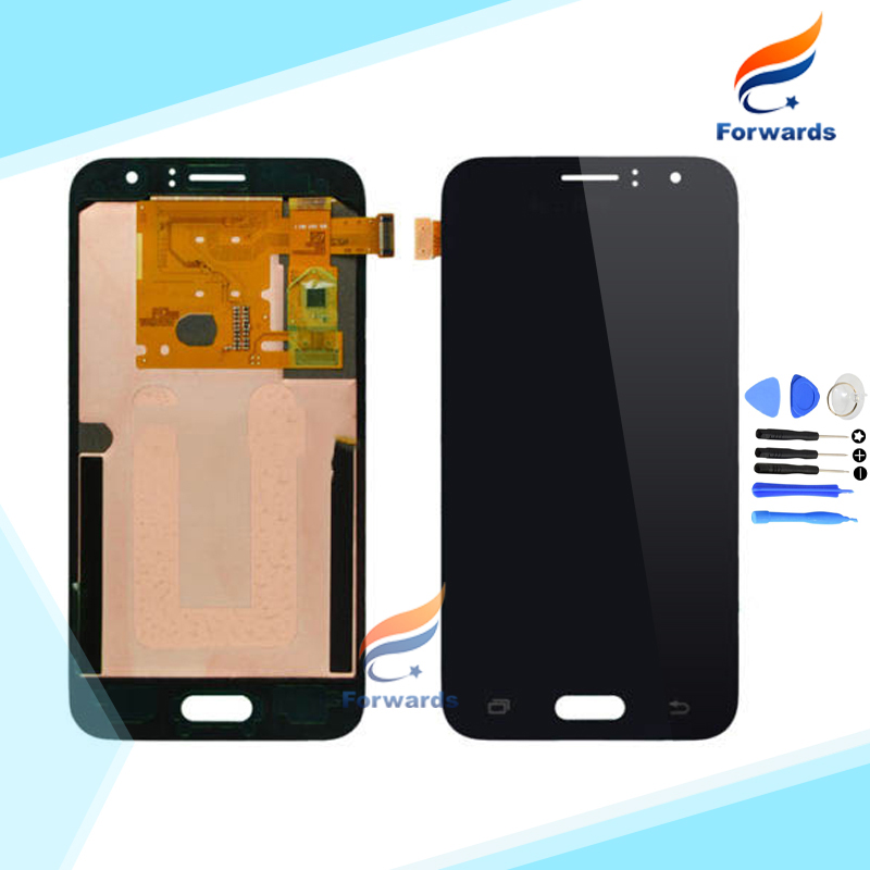 2016 New LCD for Samsung Galaxy J1 J120 J120F J120DS J120G J120H J120M Screen Display with Touch Digitizer 1 piece free shipping brand new tested lcd display touch screen digitizer assembly for samaung galaxy e5 e500f h hq m f h ds replacement parts