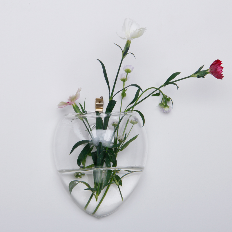 Christmas Wall Terrarium Hanging Glass Flower Vase Wall Round Sphere Tabletop Vases Home Wedding Decoration Transparent