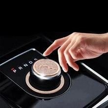 Accessoires de style de voiture pour Jaguar XJL XFL XE F-PACE bouton de panneau de vitesse de voiture