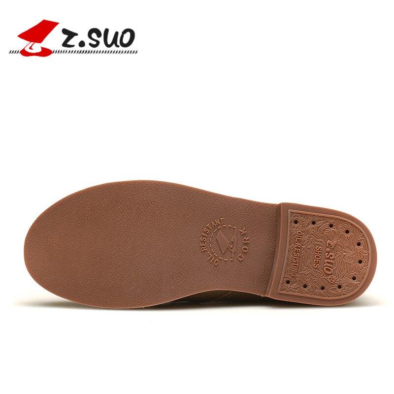 Casual résistance Dentelle Porter Femmes D'hiver De Vache up Mocassins Cuir Respirant Chaussures brown Black Z En Semelles Zs18100n Automne Dames khaki Suo FOxnPP6X