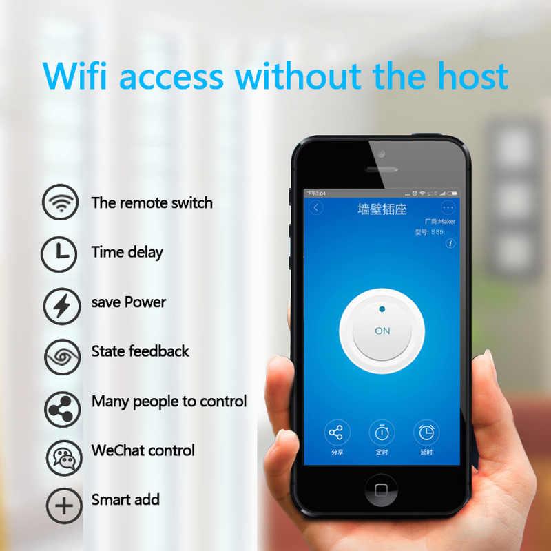 Sonoff Wifi básico interruptor de control remoto inalámbrico Domotica Luz de automatización de casa inteligente módulo de relé controlador trabajo con Alexa Google