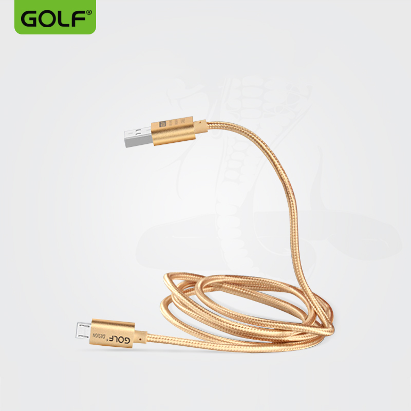GOLF Micro USB Cable for Samsung HTC Huawei Fast Charger USB Data Cable for Xiaomi Huawei Samsung Mobile Phone Cables Micro usb