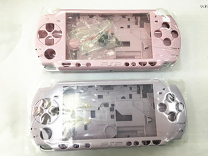 Image 3 - Pembe ve Mor Renk PSP Kılıf 2000 Tam Kabuk Konut PSP 2000 Için Kılıf
