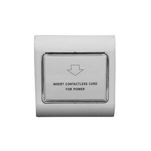 Image 2 - 10 set 호텔 에너지 절약 스위치 지원 저주파 125K 카드 220V 30A 지원 없음 고주파 카드 전원 끄기 15s 지연