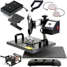 T-shirt heat press, 5in1,6in1,7in1,8in1 Combo heat press machine