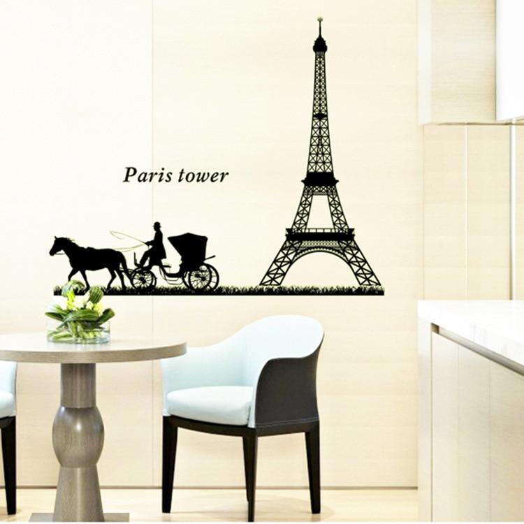 desmontable pasta luminosa torre eiffel romntica minimalista saln dormitorio decoracin mainland