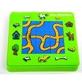 Precioso Gato y Ratón Jigsaw Puzzle para Niños de Regalo, Nuevo Estilo Juego de Laberinto Juguetes Educativos Para Niños