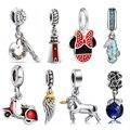 Novo Animal de moda e Design Do Carro Diy 925 Sterling Silver Europeia Bead Encantos Jóias Mulheres Para Snake Pulseiras Bangle