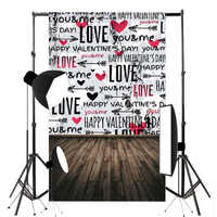 5x7ft Valentine S Day Photography Background Vinyl Computer Printed Love Backdrop For Photo Studio Props