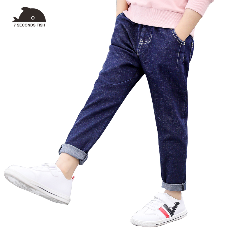 spring autumn children's jeans pants 2018 boys pants trousers boys kids leggings casual pants for 3 5 7 9 10 11 12 year young