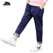 spring autumn children's jeans pants 2019 boys pants trousers boys kids leggings casual pants for  3 5 7 9 10 11 12 year young цена