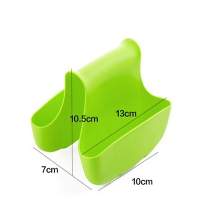 Kitchen Gadgets Double Sink Caddy Hanging Basket Kitchen Accessories Storage Sponge Kitchenware for Kitchen Accessoire Cuisine.Q
