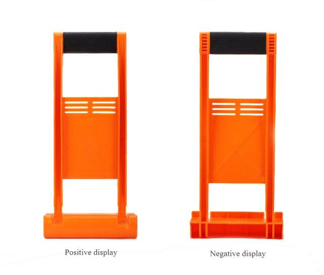 80 KG עומס כלי פנל Carrier ידית תפסן לשאת קיר גבס דיקט גיליון ABS לביצוע זכוכית צלחת גבס לוח עץ לוח