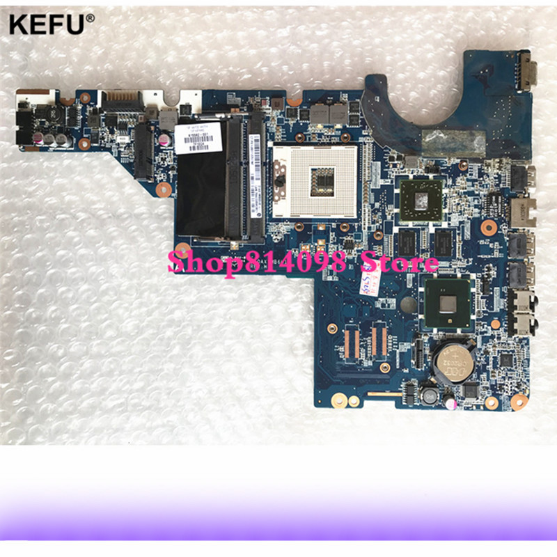 цена 595183-001 For HP motherboard CQ42 G42 G62 CQ62 laptop motherboard DAOAX1MB6F0 DA0AX1MB6H0 100% Fully Tested