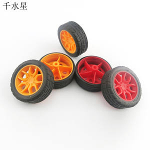 Wheel-Toy Car-Model-Wheel Model-Accessories-Material Rubber Science-Production Fine-Texture