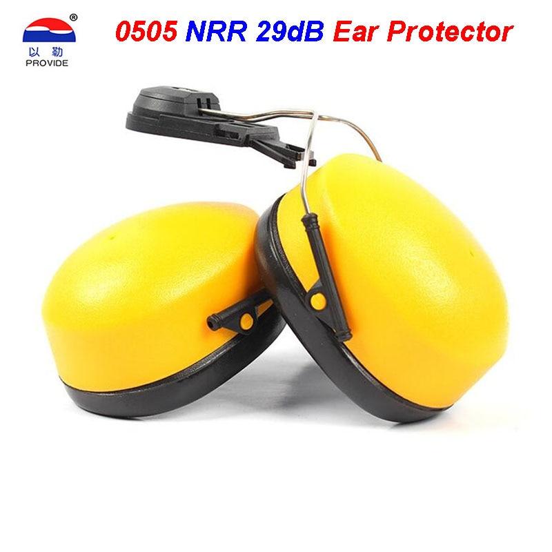 PROVIDE 0505 Noise earmuffs Protection 29 dB noise Ear protectors can Wear helmet Slot type Multifunction Noise earmuffs 10012 exc excellent type helmet noise abatement earmuffs helmets with ear protectors
