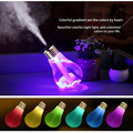 400ml LED 7 Color Light Up Glow In The Dark Toys Air Ultrasonic Humidifier Atomizer Air Freshener For Baby Kid Bedroom Sleeping