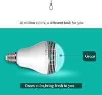 Intelligent Smart LED Light Bulb Speaker Wireless Buletooth Music Player Audio Speaker Via Phone APP Bluetooth