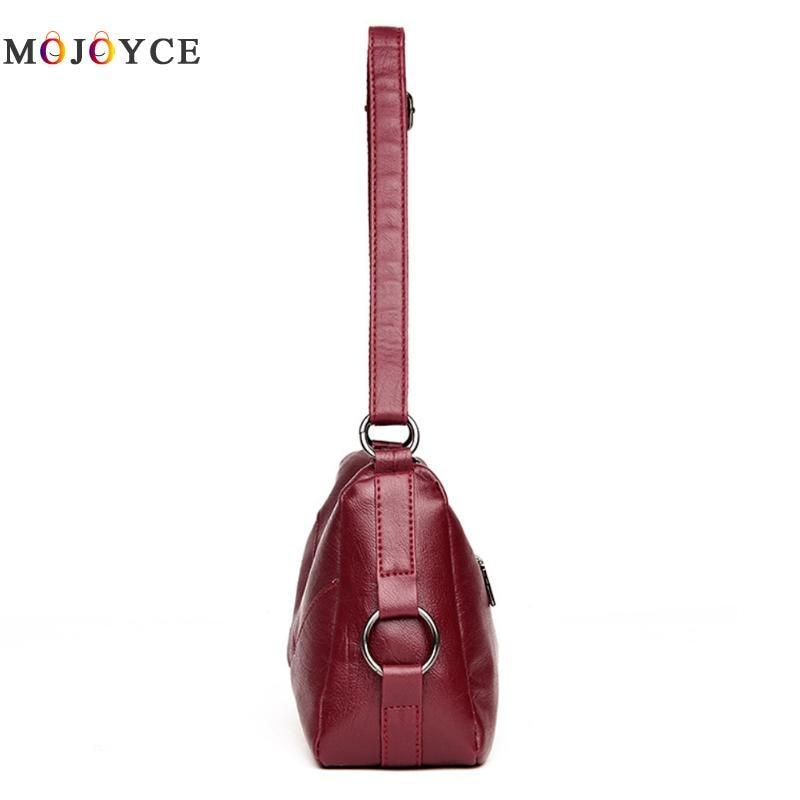 Luxury Handbags Women Bags Designer Elegant Office Ladies PU Leather Shoulder Bag Vintage Female Bolsa Feminina 3