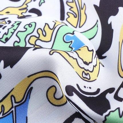 2015 camisas da forma original Do major suit Simples das mulheres imprimiram a camisa moda Ms longo sleeved camisa camisas femininas - 3