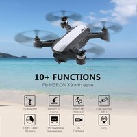 JJR/C X9 DREAM 1080P Wifi FPV Camera Drone GPS Optical Flow Positioning Drone Brushless RC Helicopter Drone Toy With 2/3 Battery