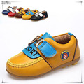 genuine leather baby boy shoes 13.7-15.7cm sole size fashion children shoes boys shoes casual sneakers loafers flat shoes CS3103
