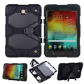 3 in 1 Hybrid Heavy Duty Shockproof Dual Layer Military Armor Back Cover Case For Samsung Galaxy Tab A 9.7 '' SM-T550 T550 T551