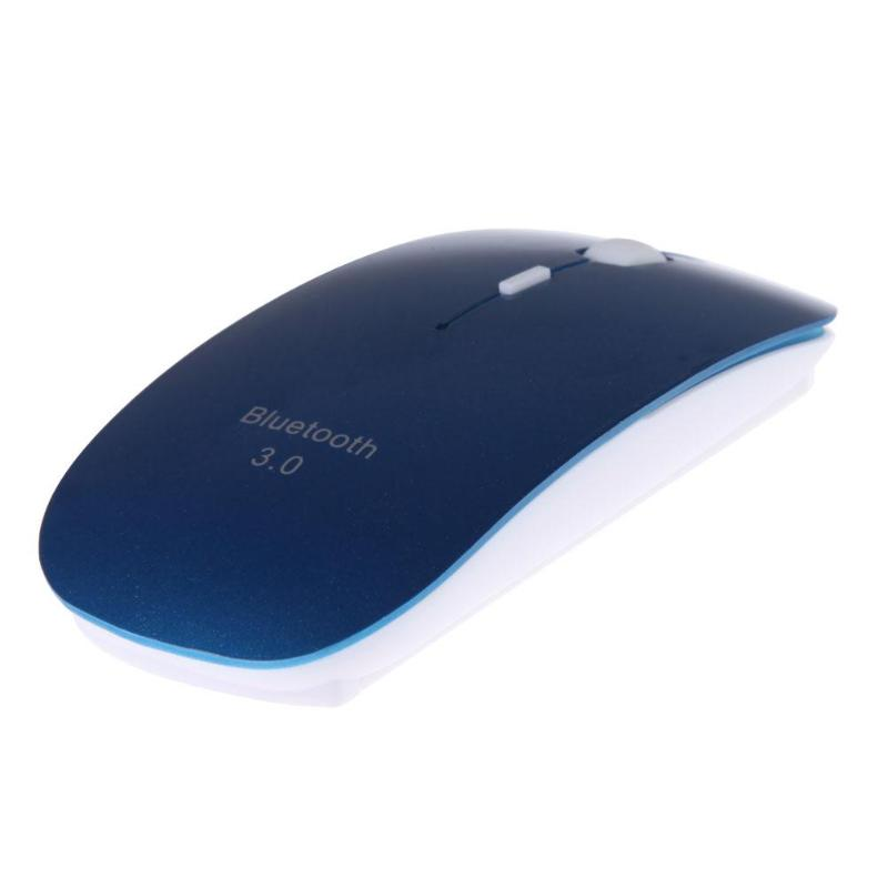 Slim Blue USB Bluetooth Wireless Mouse Computer Mice For Windows 7/XP/Vista Android 3.1 New  For Laptop PC Mouse
