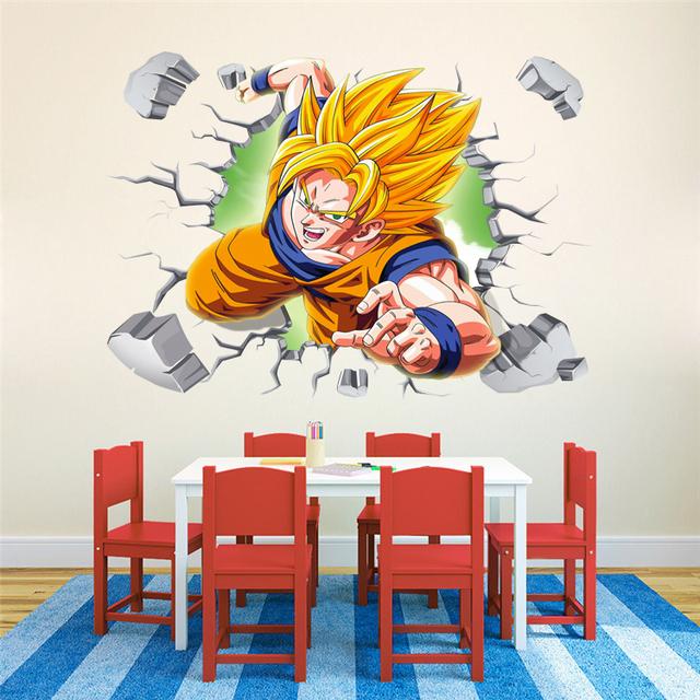 Dragon Ball Z Living Room Home Decor Art Posters