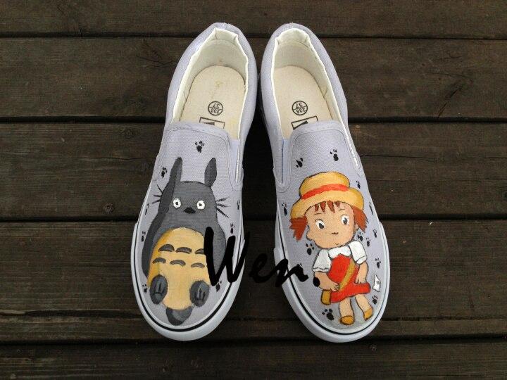 vans dibujos animados zapatillas