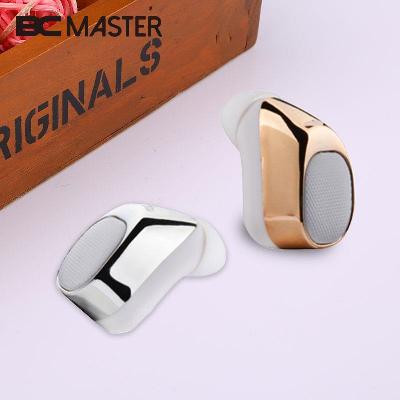 BCMaster Portable Mini Wireless Bluetooth Earphones 45mAh Stereo In-Ear Headset Handsfree Headphone For MP3 Music Cellphones